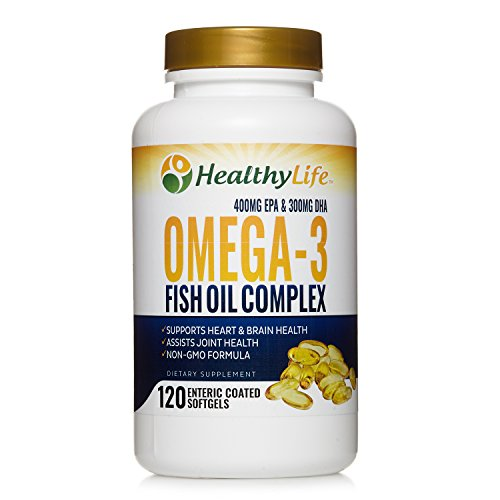 Omega 3 Fish Oil 1000mg | 700mg of Finest Epa DHA Essential Fatty Acids | Liquid Burpless Pills | Supplements for Adult Women Men | Supports Heart Brain Joint Health