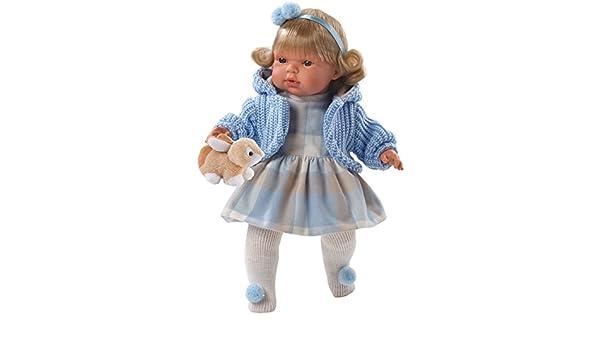 Amazon.es: Llorens 38540 - weinende muñeca Carlota: Juguetes ...