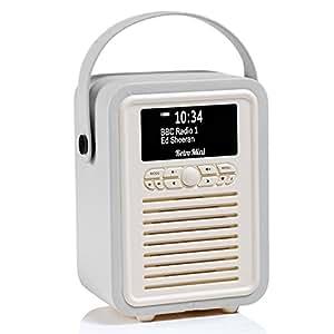 Amazon.com: Retro Mini by VQ   Radio & Bluetooth Speaker
