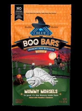 Blue Boo Bars Seasonal Dog Treats 8-Oz