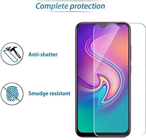 Kavacha Infinix S4 Tempered Glass, Premium Pro Full Glue 2 5