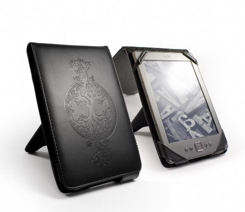 Ink Tree (Tuff-Luv Apocalypse Series case cover & stand for Amazon Kindle 4 / 6