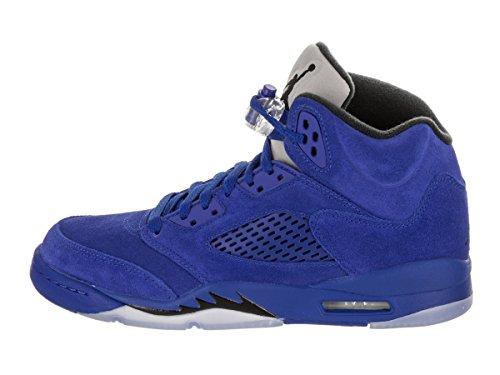 Nike AIR Jordan 5 Retro BG (GS) 'Blue Suede' - 440888-401 - Size 4.5 - X1eWarI
