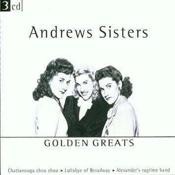 amazon golden greats andrews sisters イージーリスニング 音楽