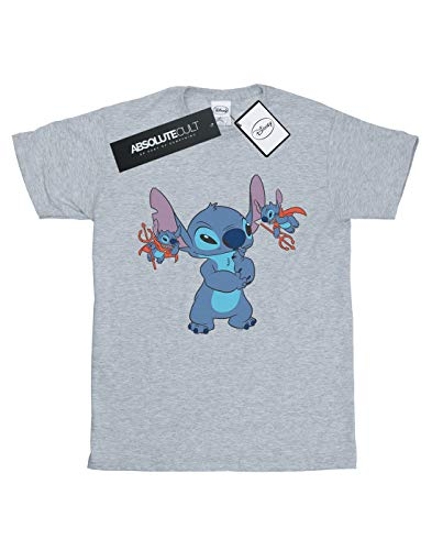 Girl de Little Lilo Devils Grey Disney Stitch Camiseta deportiva tpBqvv
