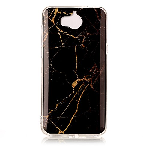 2017 Silicone Protection 2017 Coque Anti Y6 Choc Marbre Y6 Rayures Huawei Lomogo de Housse Anti YIHU23708 5 Huawei 7 Gel Coque Souple pour YAZHEE