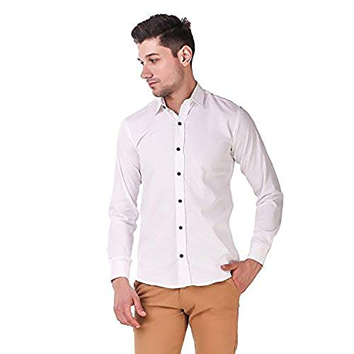 STYLETHIC Cotton Fabric Full Sleeves Casual Shirts for Mens & Boys