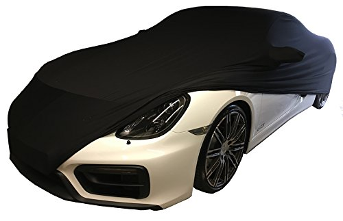 Super-Soft indoor stretch autohoes autobeschermhoes geschikt voor Porsche Cayman, 981, 718, GT4, Elfer, 911 / 992 / 991…