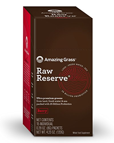Amazing Grass Reserve Individual Servings