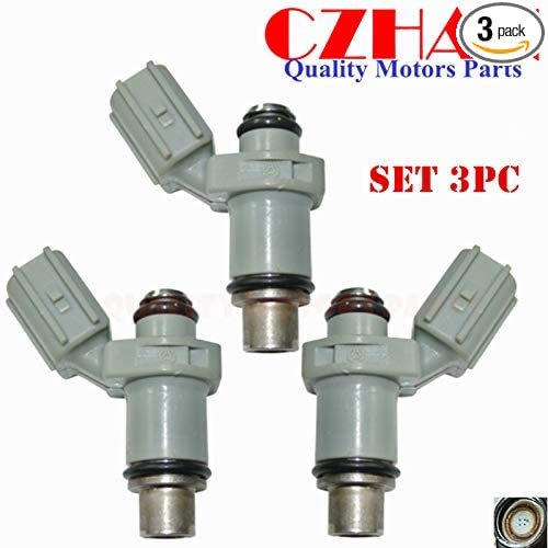 6BG137610000 3pce CZHAN fuel injectors for NIB Yamaha outboard injector nozzle for HP 30HP 40HP F30 F40 6BG-13761-00-00,6BG-13761-00