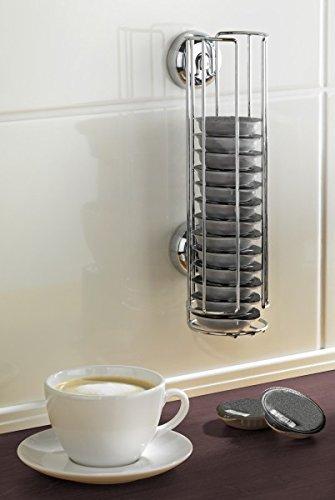 Wenko turboloc Soporte para cápsulas para Tassimo Cápsulas de Café – sin agujeros – Dispensador de