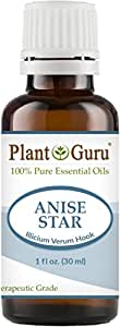 Anise Star Essential Oil 30 ml (1 oz) 100% Pure Undiluted Therapeutic Grade.