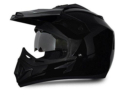 Vega Off Road Full Face Helmet (Black, M)