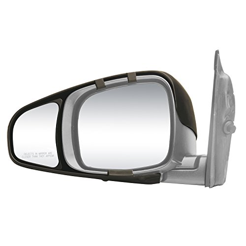 Fit System 80720 Snap & Zap Towing Mirrors, 2 Pack