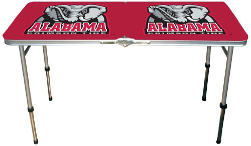 NCAA Alabama Crimson Tide Tailgate Table, 22-Pound by Marketing Results, Ltd.