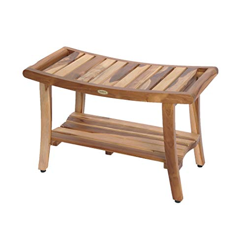 EcoDecors Harmony Shower Bench, Natural ()