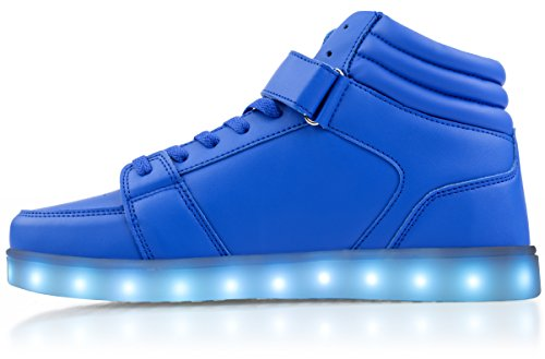 by Electric up Shoes High Styles Tops Blue Light wZqTrYxpZ
