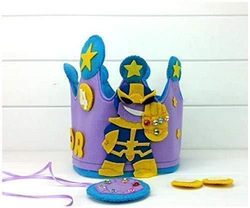 Corona Cumpleaños Thanos: Amazon.es: Handmade
