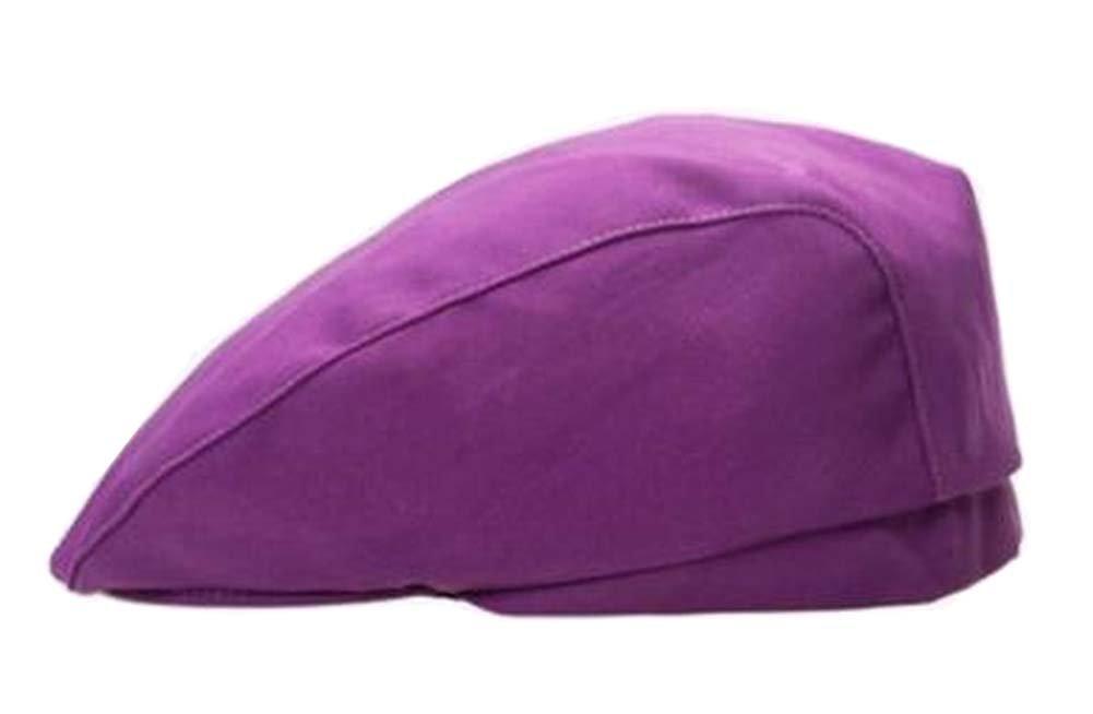 Black Temptation [Purple] Kitchen Chef Hat Restaurant Waiter Beret Bakery Cafes Beret