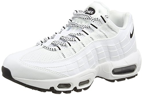 109 Air Chaussures 95 Course Max Black Blanc Nike Homme de White black PqRa4dSw