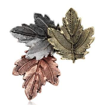 Trifari Leaf Brooch Best Quality, 1pc Broche Vintage Pin Maple Leaf Brooch Brooches Pins Exquisite Collar Party - Gold Leaf Brooch, Pearl Circle Brooch, Trifari Gold Leaf Brooch, Vintage Avon Brooch