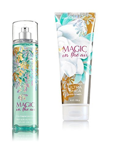 - Bath & Body Works ~ Signature Collection ~ Magic in the Air ~ Winter 2016 ~ Gift Set ~ Fine Fragrance Mist & Ultra Shea Body Cream