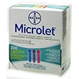 Microlet Lancets - Coloured 200