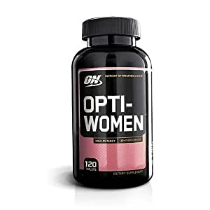OPTIMUM NUTRITION Opti-Women, Womens Daily Multivitamin Supplement with Iron, 120 Capsules