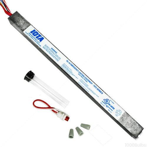 Emergency Backup Battery - 90 min. - Operates Most 2 ft. to 4 ft. 14W to 54W T5 or T8 and 36W to 55W 4 pin long compact Lamps - 120/277 Volt - Iota ISL-54