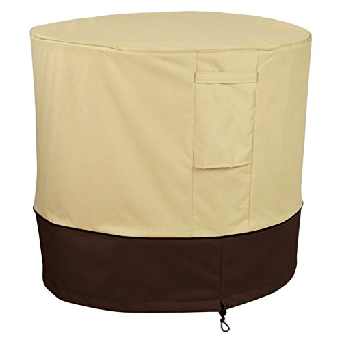 Pagacat Waterproof Outdoor Veranda Air Conditioner Cover for All Seasons(Round) (Lennox Unit Heaters)