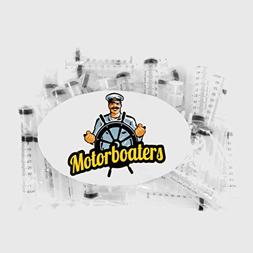 Moaterboaters - 50 Pack Jello Shot Syringes (1.5 Ounce) - Perfect Shooters for a College Party, Drinking Games and Halloween Events by Motorboaters (Image #3)