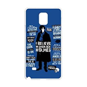 Sherlock holms Cell Phone Case for Samsung Galaxy Note4 WANGJING JINDA