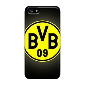 Great Hard Cell-phone Case For Iphone 5/5s (Eyb10519DIVp) Support Personal Customs Colorful Borussia Dortmund Series