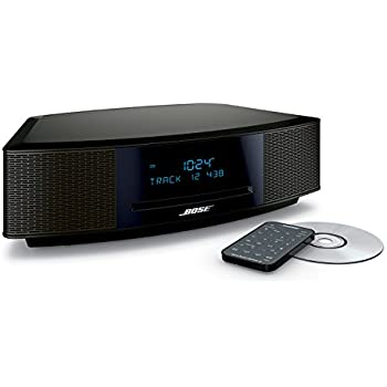amazon com bose wave music system iv espresso black home audio rh amazon com Refurbished Bose Wave Radio CD Player Bose Wave Radio CD Player Repair