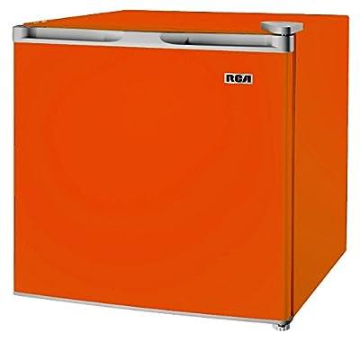 1.6-1.7 Cubic Foot Fridge, Orange