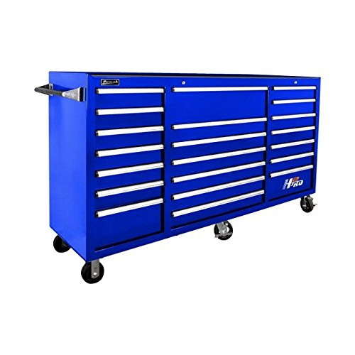 2-Inch 21-Drawer Rolling Cabinet, Blue, BL04021720 ()