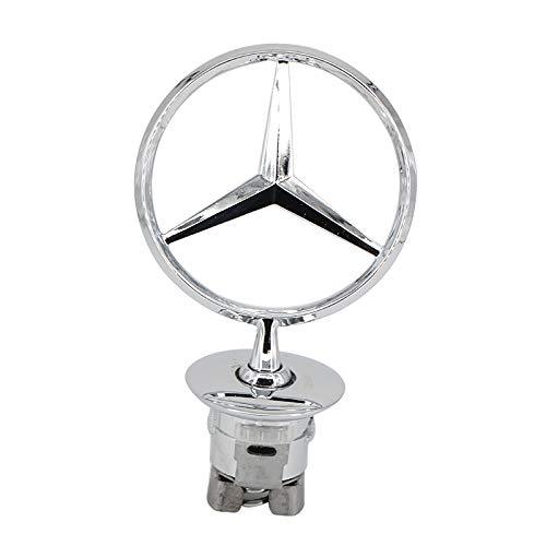 Ruanye For Mercedes Benz Hood Star Emblem W124 W210 E-Class W202 W203 C Class W204 C Class W220 S Class 1994-2007;A 221 880 00 86;all S serie,E serie,C serie,W series