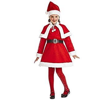 Car&Gus Disfraz de Santa Claus para niña