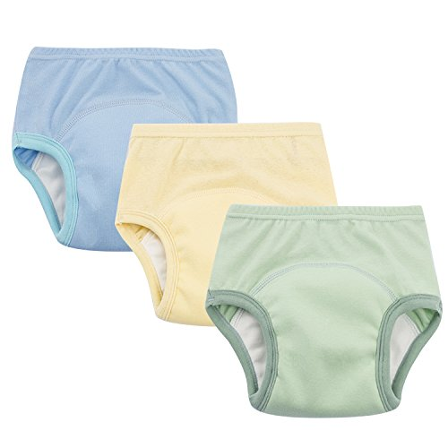 Toddler Boys Potty Training Pants Cotton Interlining Underwear Toddler 3-Pack, 5T