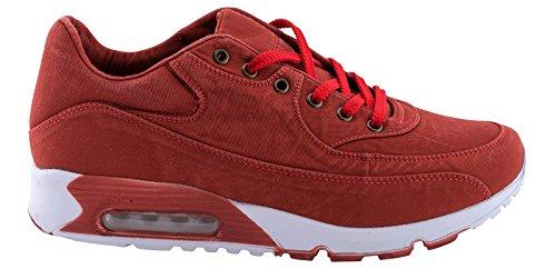 Rosso Scarpa Della Sportive Uomini Da H1634 Tennis Gli g0w8qxW