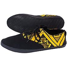 Indosole Women's JJ Lace-up Shoes Size 10, Trails Yellow & Black