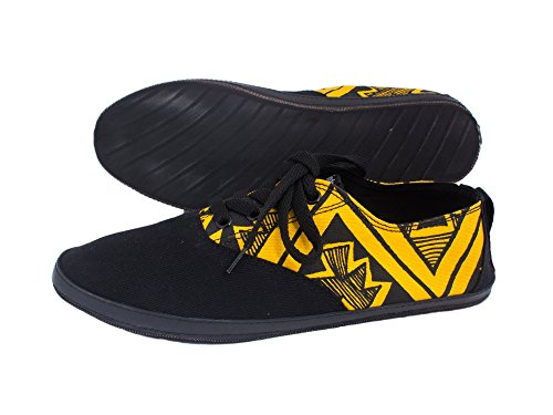 Black Trails Yellow Indosoles JJ amp; Shoes Size Lace 5 Womens Up 6Pqpv