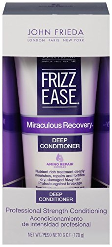 John Frieda Frizz Ease Miraculous Recovery Deep Conditioner, 6 Fluid Ounce (John Frieda Deep Conditioner compare prices)