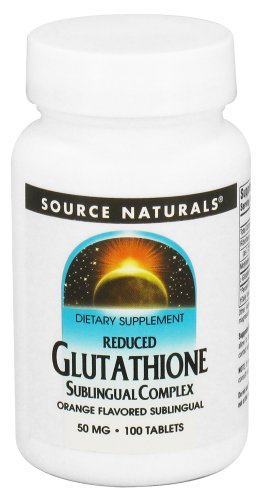 REDUCED GLUTATHIONE 50MG 100T