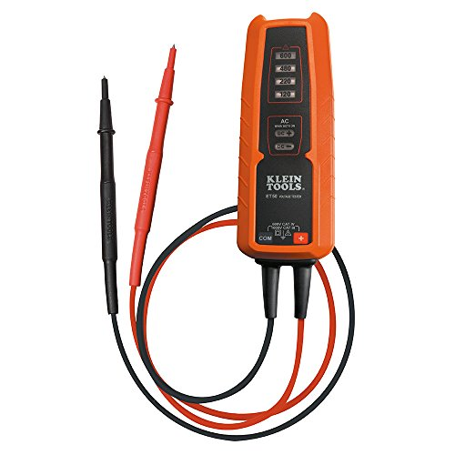 Automatic Electrical Tester (KLEIN TOOLS ET50 Electronic Voltage Tester AC/DC voltage range 120 - 600V)