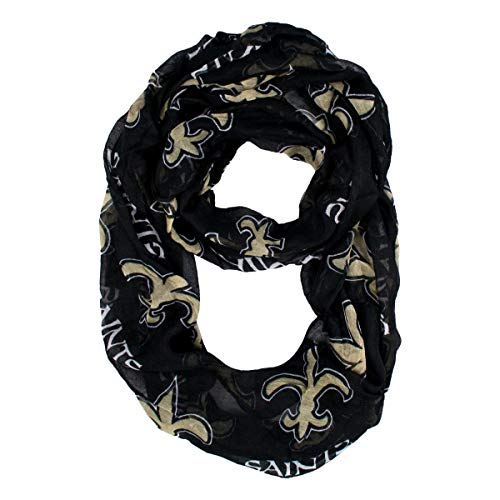 NFL New Orleans Saints  Sheer Infinity Scarf