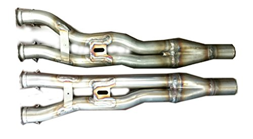New Set of Yamaha Stainless Steel Exhaust Y-Pipes for 2006-10 Apex/Attak (Pair)