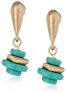 Kenneth Cole New York Mixed Bead Drop Earrings