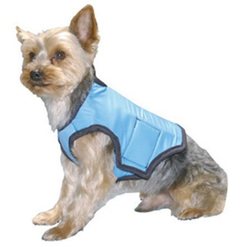 Cool Vest for Dogs, Blue, Extra - Vest Blue Cooler