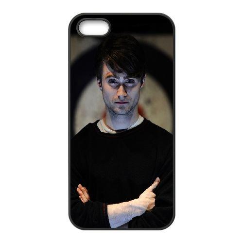 Daniel Radcliffe Young Man Celebrity Actor coque iPhone 5 5S cellulaire cas coque de téléphone cas téléphone cellulaire noir couvercle EOKXLLNCD23039